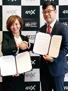 CGV 4DX, 동남아 시장 공략 강화