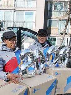 CJ대한통운 실버택배, 누적 배송량 2천만 상자 넘었다.