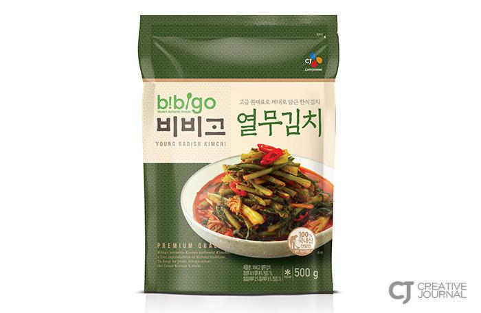 비비고 열무김치 제품 이미지