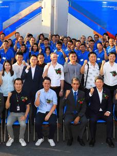 CJ대한통운, 태국 최첨단 택배터미널 오픈