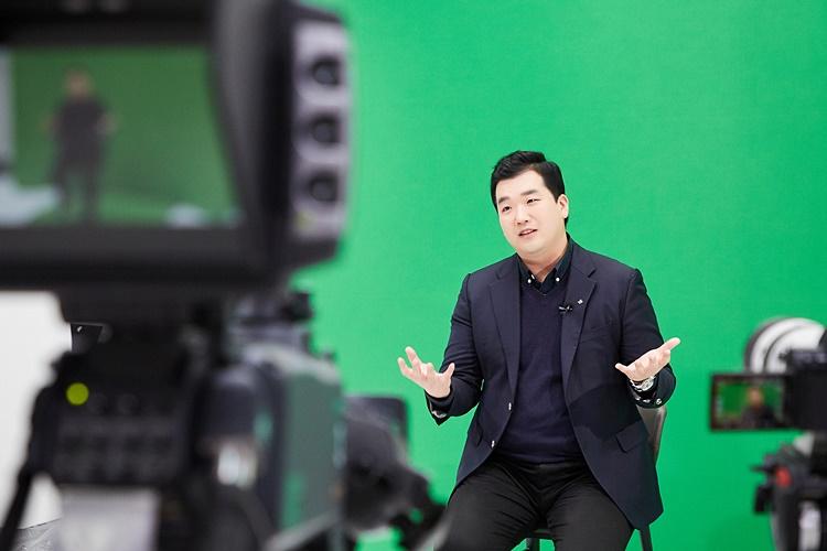 CJ대한통운 윤한득님 촬영장 모습