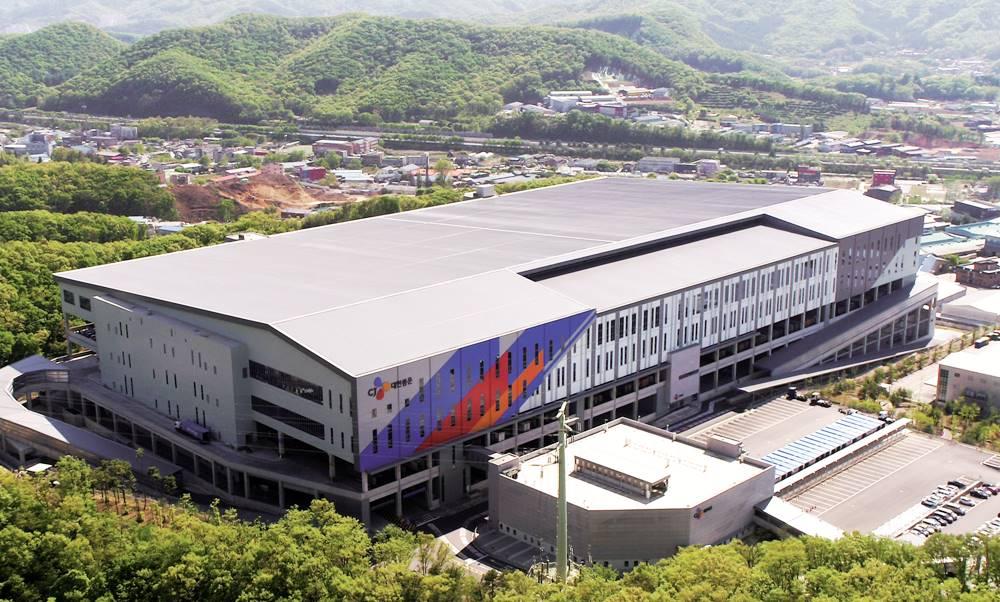 A panorama of CJ Logistics Mega-Hub Gonjiam
