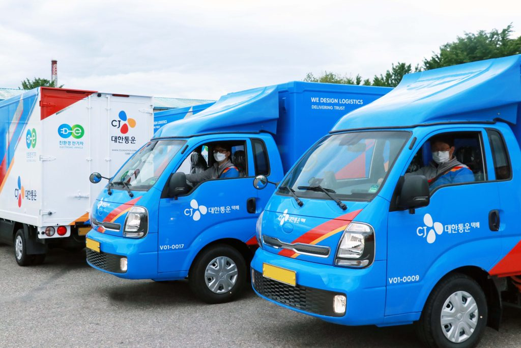electric delivery vehicles