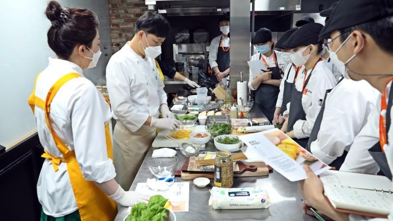 요리 특강 현장사진 1