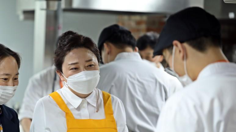 요리 특강 현장 김나운 배우 사진 1